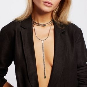 Free People City Slicker Necklace